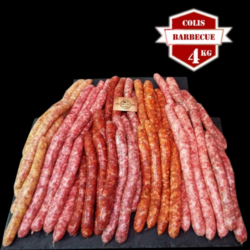 Colis barbecue chipolatas 4kg